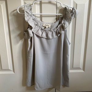 Ruffle Strapped Tank Top